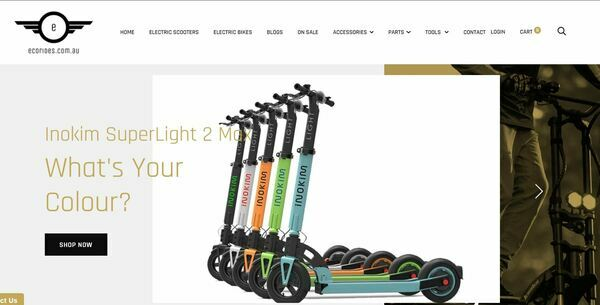 EcoRides.com.au - Shopify Business with Organic Traffic Making $4,032 Monthly Through Sale of Electric Scooters and Parts