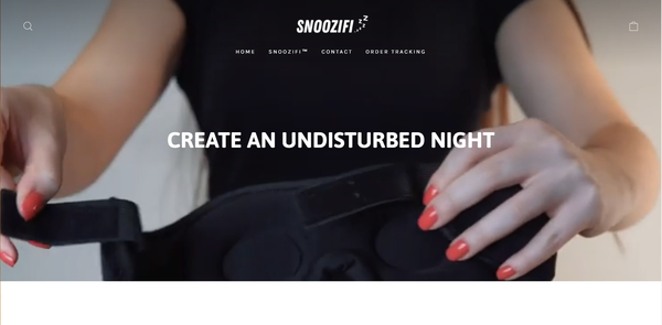 snoozifi - Shopify Branded One Product Store. ($980 Domain) Design Built By A Team Of Professional Web Designers. Everything Is Done For You, The Store Is Launch Ready.