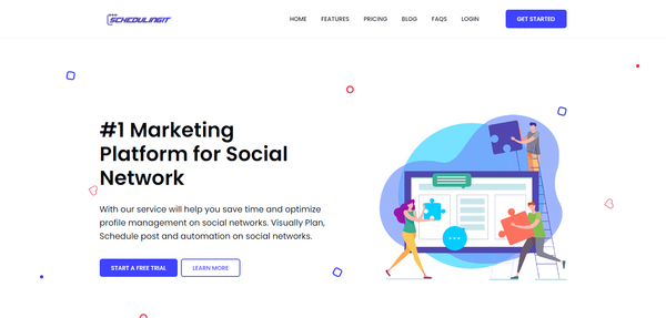 Scheduling It - schedulingit.com is a solution for social marketing that will help you save time and optimize profile management on social networks. Visually Plan, Schedule pos