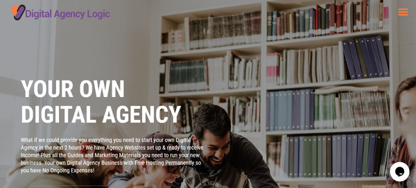 DigitalAgencyLogic.com - You Can Own Your Own Agency Reseller Business