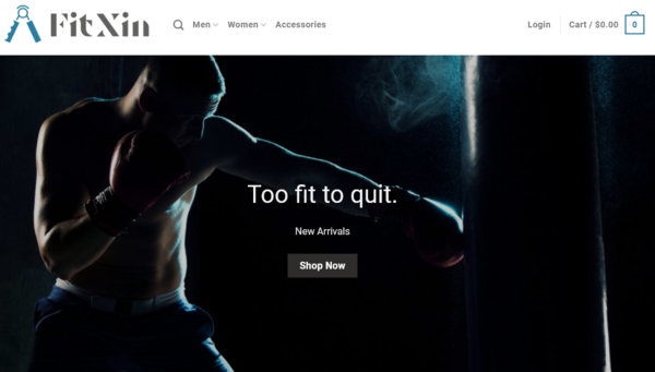 fitxin.com - FitXin.com - Fitness Automated Dropshipping Store|Domain worth +$1,689