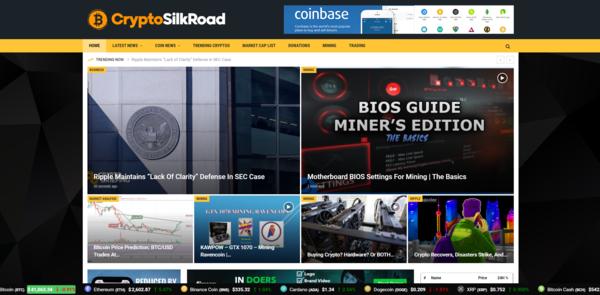 CryptoSilkRoad.com - Autopilot Crypto Bitcoin News Magazine Blog To Make Money Online