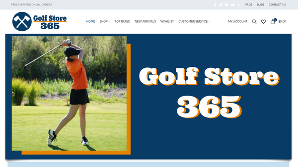 golfstore365.com - Automated Store, SEO Backlinks $4,500/Mo Potential, 11-years Domain -NO RESERVE!