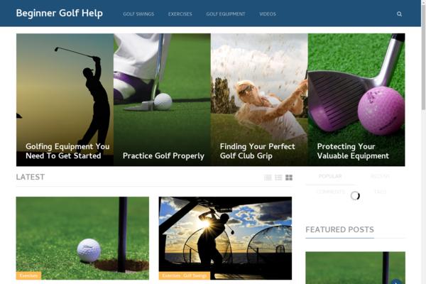 BeginnerGolfHelp.com - Hot Sports! - Golfing Blog - Amazon Ads! - BIN Bonuses!