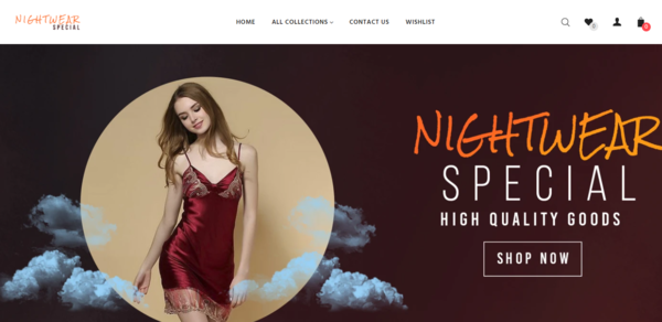 NightwearSpecial.com - Password : 111, Automated Nightwear Products Dropshipping, Trusted Suppliers