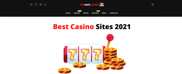 topsafecasino.com - Affiliate Casino Reviews Website - Earn Up To 50% Commissions On The Lifetime