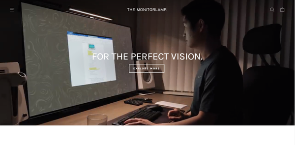 monitorlamp - Shopify Branded One Product Store. ($1,151 Domain) Design Built By A Team Of Professional Web Designers. Everything Is Done For You, The Store Is Launch Ready.