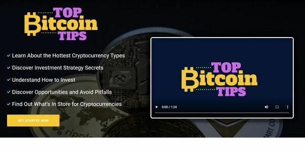 TopBitcoinTips.com - Crypto eBook Guides and Videos eCom Store, Digital Product for Hands-Off Order Fulfilment, Custom Promo Video & Sales Graphics, WordPress & WooCom