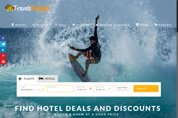 https://TravelsDesign.com/ - Travel Comparison Search Engine - 100% Automated - Hotels, Flights, Cars & More!