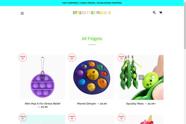 stressfreefidgets.com - stressfreefidgets.com