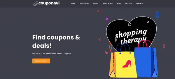 couponavi.com - Coupons & Deals Website like Groupon, Retailmenot. Potential Earn up to 10k$/mo