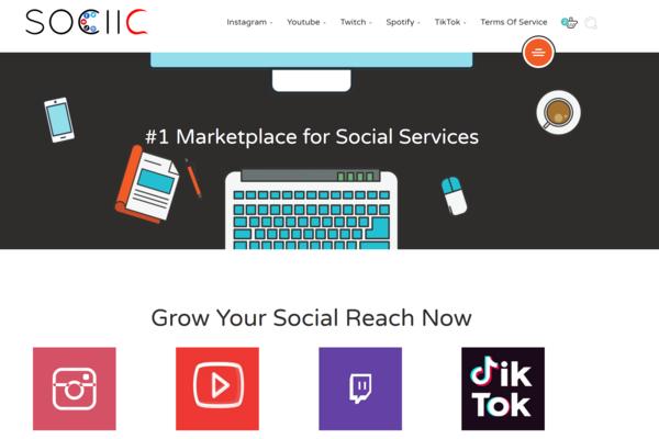 sociic.com - e-Commerce / Internet