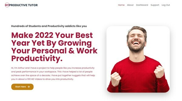 MyProductiveTutor.com - MyProductiveTutor.com | 100 Premium HD Videos Recorded in 2020 | LMS Membership | Zero Cost Of Operation| Free Video Hosting | Real Human Presenters | Optimized