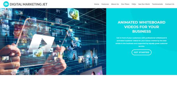 DigitalMarketingJet.co - Whiteboard Video Agency, Newbie Friendly, Fully Outsourced, Profit - $553 per/mo