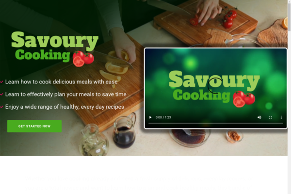SavouryCooking.com - Cooking and Recipe Book Bundle Store, Digital Product, Wordpress/WooCommerce