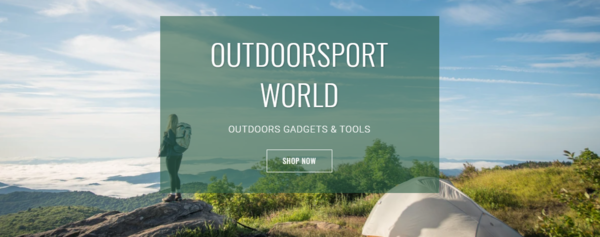 outdoorsportworld.com - PREMIUM Outdoor camping/sporting products Huge potential for growth!