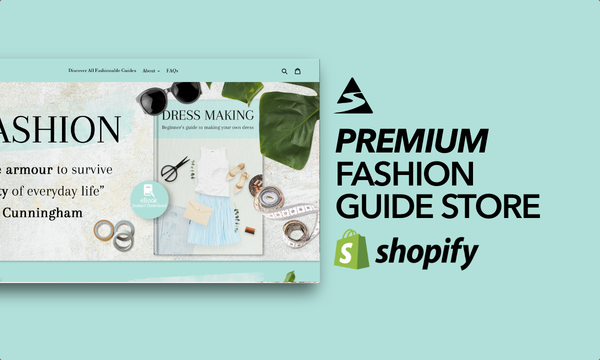 FashionableGuides.com - Password: 1234 | Fashion Ebooks Digital Product Shopify Store Startup Streams