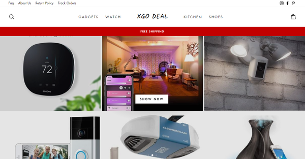 Xgo Deal - Xgo Deal is a premium  Shopify Dropshipping Store + Android App  - Electronics , Fashion , Watch , Shoes and much more . Huge E-commerce business Opportunity