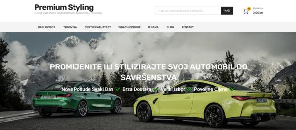 premiumstyling.eu - e-Commerce / Automotive
