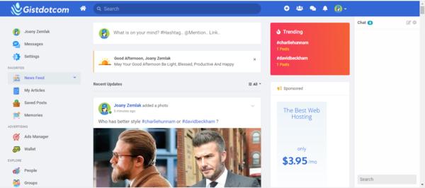 gistdotcom.com - Make money with this social entertainment community with over 3k members