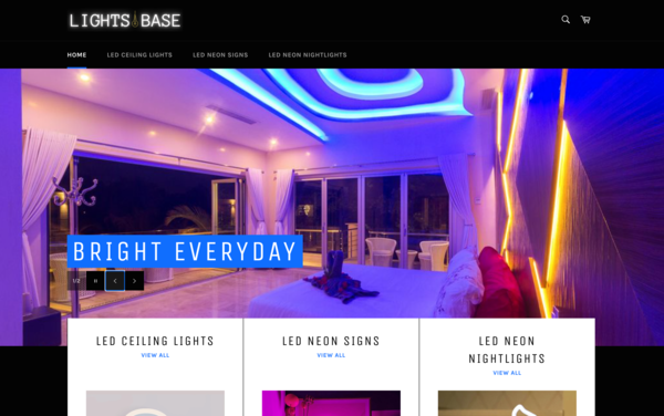 LightsBase.com - LightsBase.com -   NO RESERVE   LED Lights Store  $1,405 Domain Value