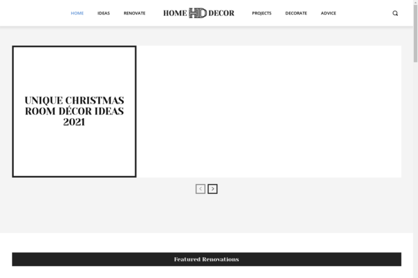 homeimprovementbox.com - Home Improvement Box - Powerful Domain Name with Quality Wordpress website