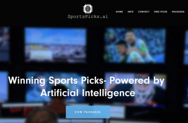 sportspicks.ai - SaaS / Sports and Outdoor