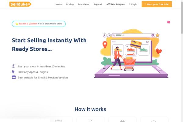 sellduke.com - Sellduke.com - Turnkey SaaS Business like Shopify by WordPress & Woocommerce