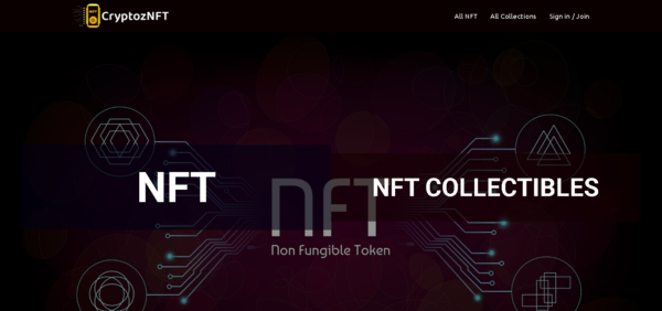 CryptozNFT.com - Start your own Crypto NFT Marketplace Create your own token