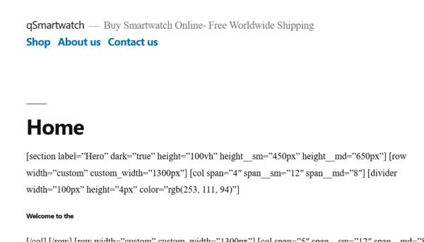 qsmartwatch.com - QSmartwatch.com- smartwatch Automated Dropshipping StoreDomain worth +$1,280