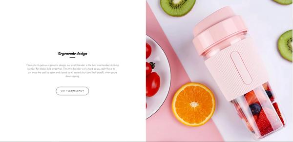 fleshblendy.com - Portable Blender Business | Branded One Product Store