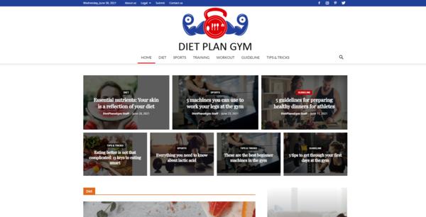 DietPlansGym.com - DietPlansGym.com: Gym, Fitness, Nutrition, Health