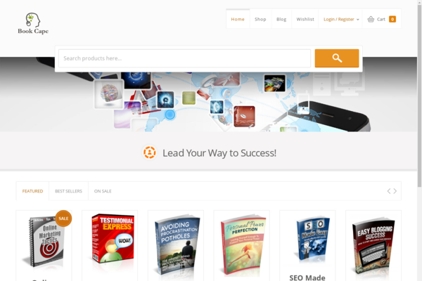 bookcape.com - Stunning eBook Web Store. 100% Pure Profits. No Maintenance/Exp. Required.