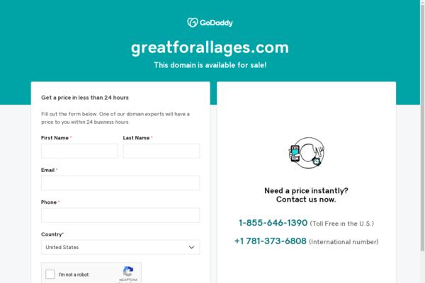 greatforallages.com - Kids!