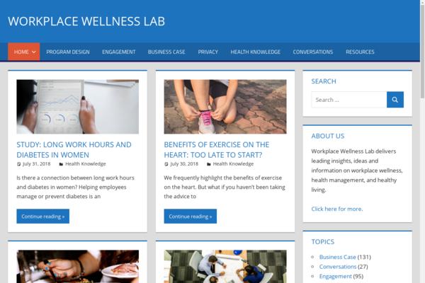 workplacewellnesslab.com - Workplace Wellness Hub