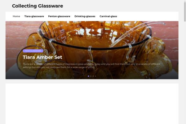glassware-handbook.info - WordPress blog about design. Glass products.