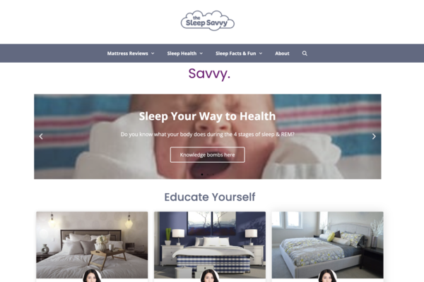 TheSleepSavvy.com - 3 y/o Passive Content Site in the Sleep & Health Niche Making $153/mo Over Last 6 Months. Many Easy Wins, Under-Optimized. Started in 2018. NO RESERVE!