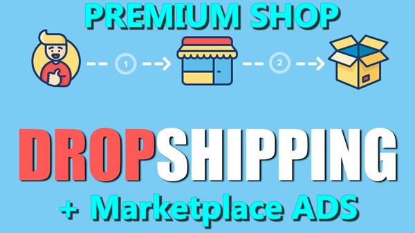 gimbu.online - Premium Dropshipping Shop + Marketplace You Can Autopost 25000 ADS