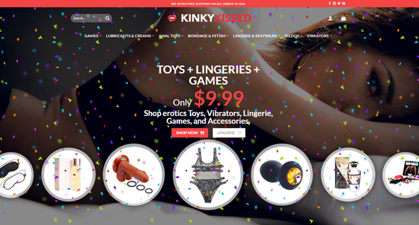 KinkyKissed.com - KINKYKISSED.COM Professional Adult store 6,000+ inventory USA Supplier