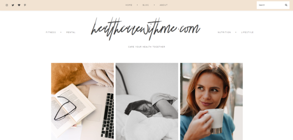 healthcarewithme.com - Starter Site for sale in the Health and Beauty industry