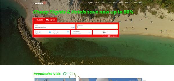 travelevia.com - Premium WhiteLabel Automated Affiliate Travel Business. Earn up to 10 000 $ / mo