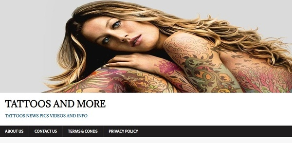 tattoosandmore.info - Advertising / Health and Beauty