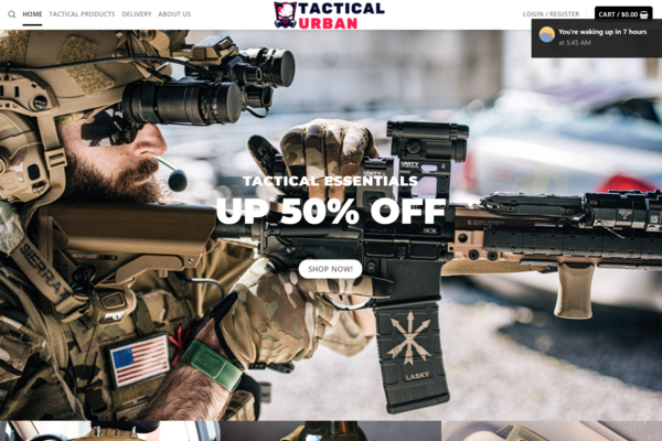 Tactical Dropshipping store HOT NICHE/ No Programming Skills Needed, No Stock Needed, High Profit Margin Earn Up To $5k/Month - Trending Products and Positive Feedback Seller. Amazing Tactical Dropshipping store HOT NICHE/ No Programming Skills Needed, No
