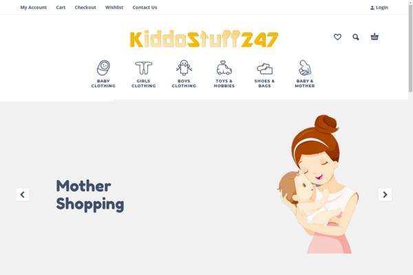 KiddoStuff247.com - Earned $7k+ | 1,600+ Kids Items | For Newbie | 200% Profit | Baby Drop-Shipping