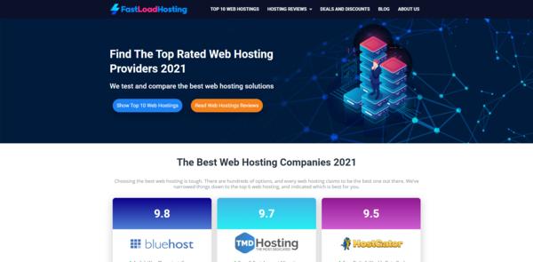 FastLoadHosting.com - Hosting Affiliate Site To Make Money Online, Earn Up To $10k/Month