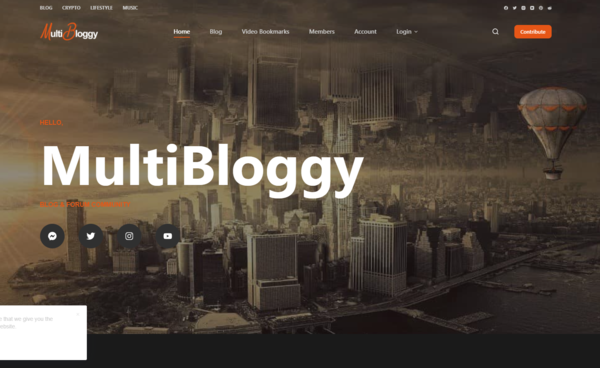 https://multibloggy.com - Crypto | Lifestyle | Music Blog & Forum Community with a Facebook page with 2535 followers. A growing Forum and Blog Community with a short title Facebook page.