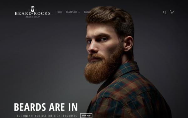 BeardRocks.com - BeardRocks.com - | NO RESERVE | Dropshipping Beard Store|$1,175 Domain Value