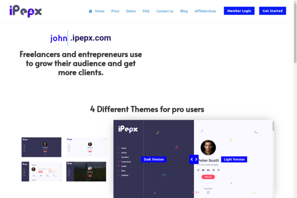 ipepx.com - Start your own Business - E-Resume SaaS earn recurring revenue