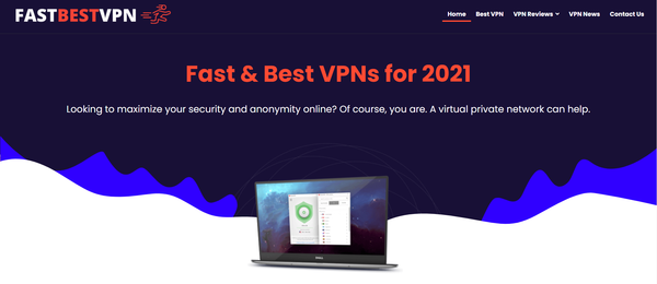 fastbestvpn.com - Premium Designed VPN Reviews Affiliate Website. Earning per click Up To 190$.