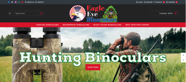 eagleeyebinoculars.com - #1 Premium Hunting Binocular & Spotting Scopes   100% Usa Webstore